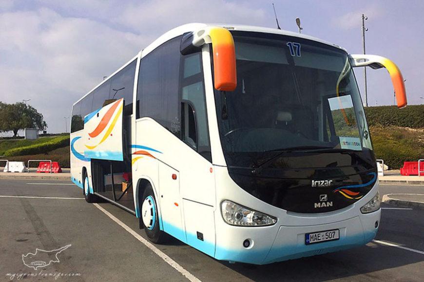 My Cyprus Taxi Transfer - MAN bus transfer